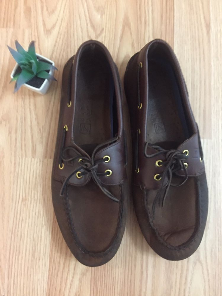 Sperry Top-Sider Men's Boat Shoes Size