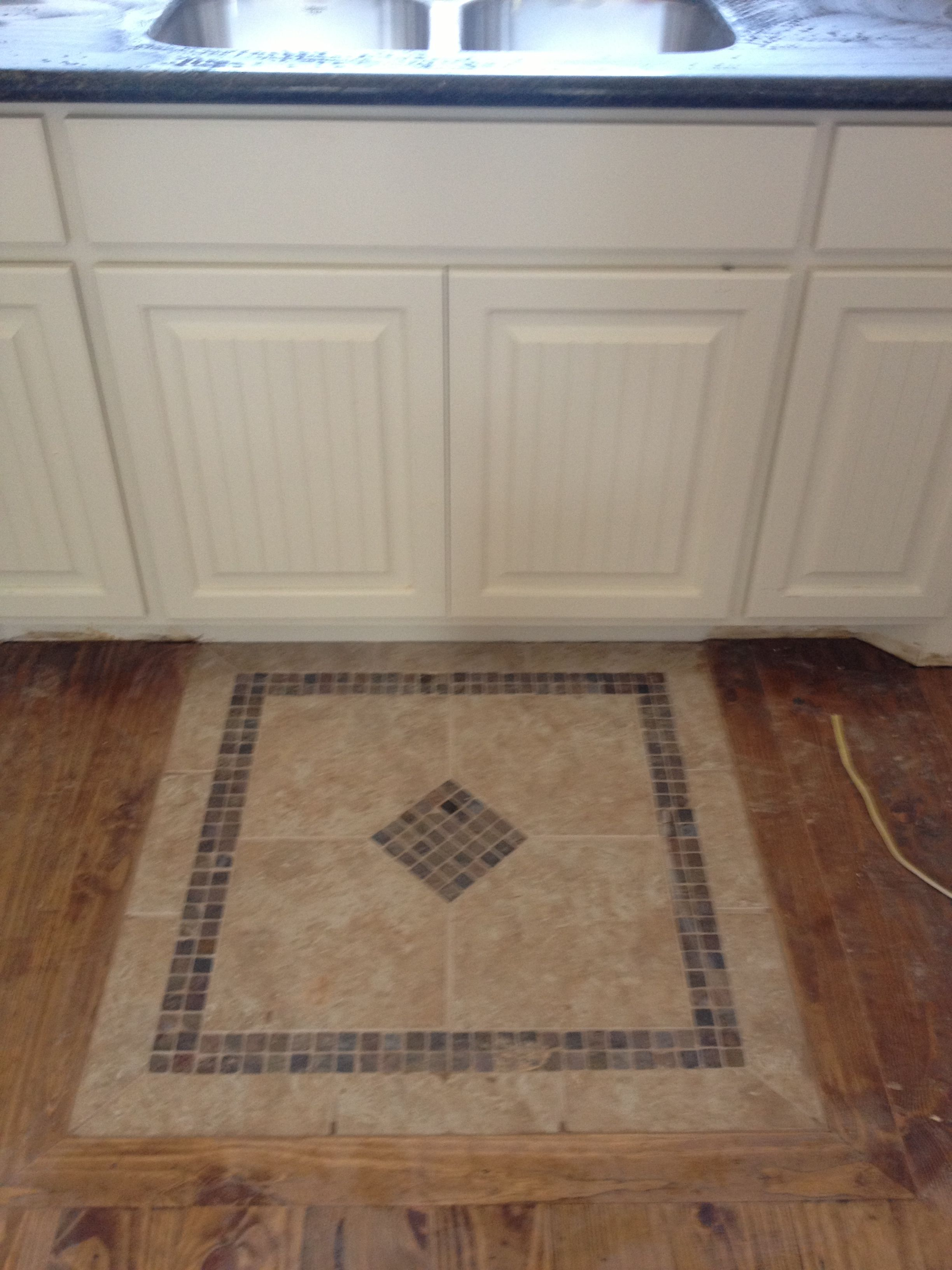 Tile Rug In Front Of Kitchen Sink Kitchen Rugs Sink Tile Rug Tile Floor Diy