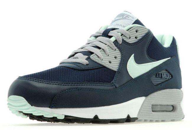 Nike Air Max 90 Essential – Navy & Mint | Nike | Sneakers