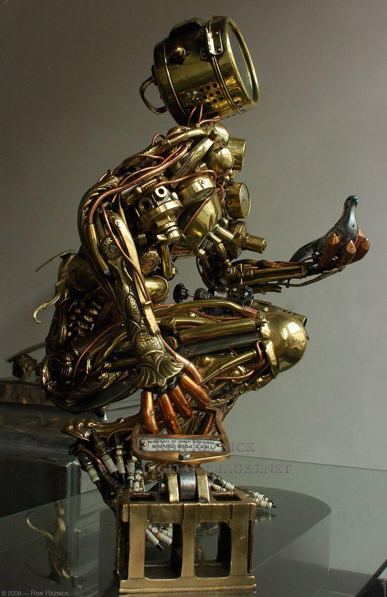 Biomechanical | Steampunk | Pinterest | Robot, Steam punk ...