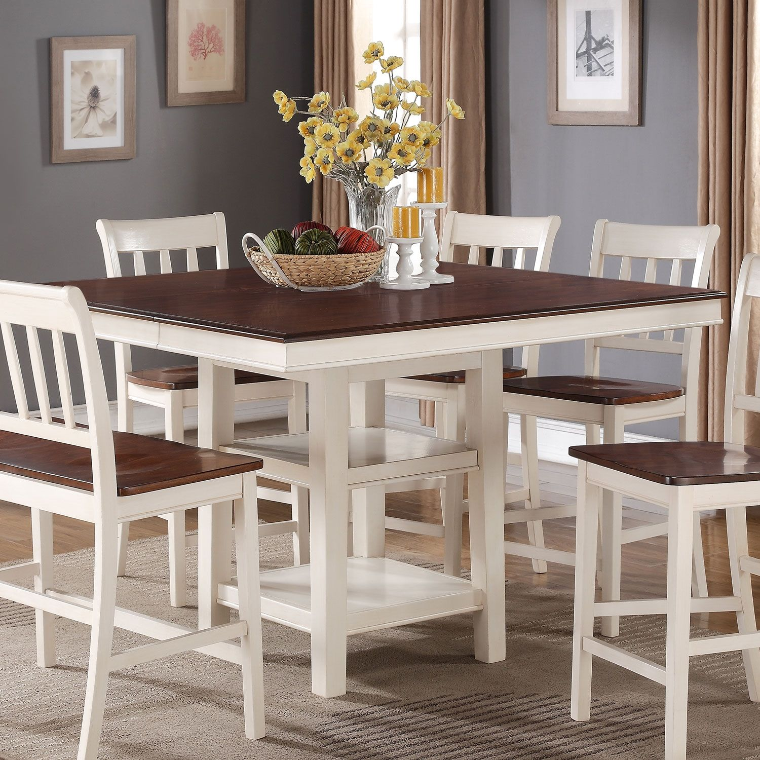 Dining Room Accent Pieces: Nyla Counter-Height Dining Table