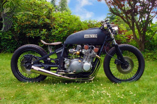 1978 suzuki gs750 bobber | shadowlight customs | Bobber | Pinterest