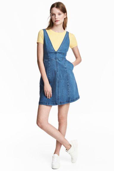 4d7fa3cd0e Sukienka dżinsowa - Niebieski denim - ONA