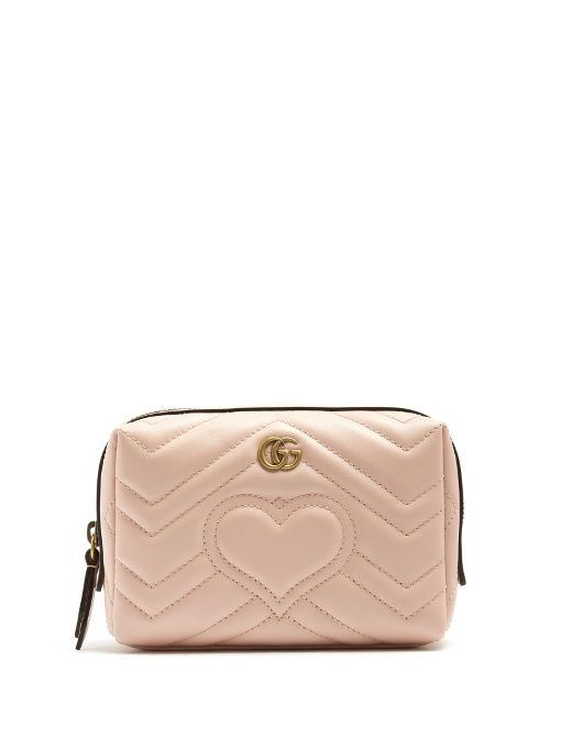 GG Marmont quilted-leather make-up bag Gucci v7sd0