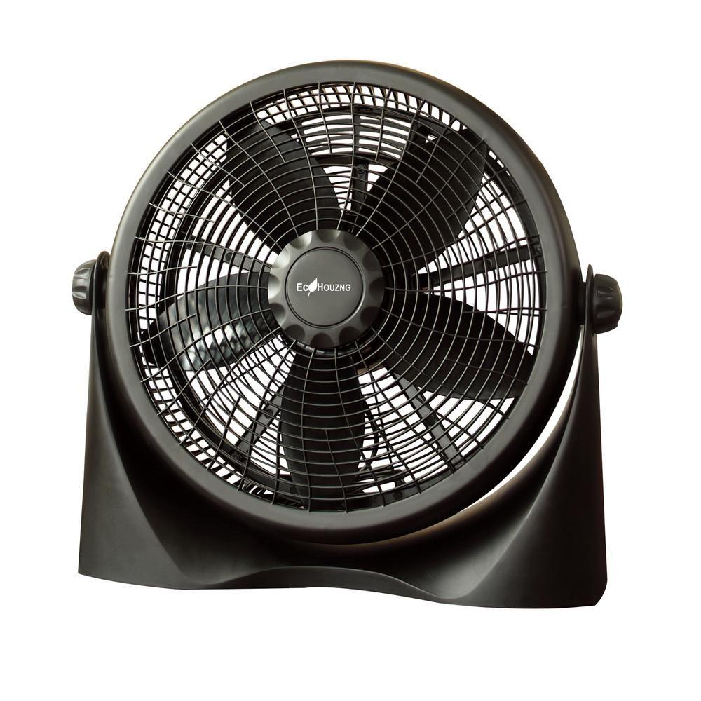 Homevision Technology Ecohouzng 16 In High Velocity Air Circulator Black High Velocity Fan Fan Retro Fan
