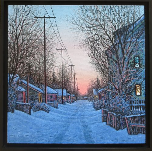 Winter of 2014 by Wilf Perreault