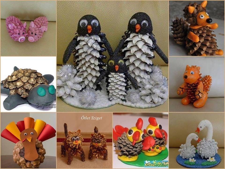 Pinecone Animals Nature Crafts Pine Cone Crafts Pine Cones Crafts