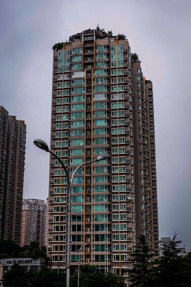 Mountaintop Villa on Bejing Skyscraper (5 Pictures   Clip)