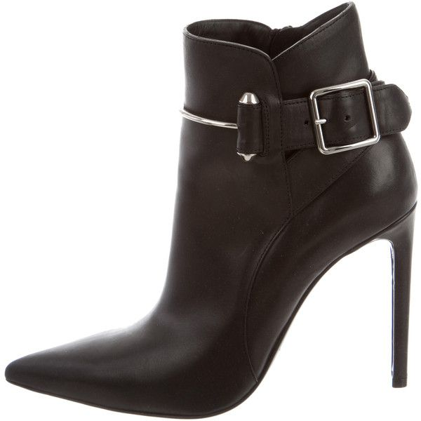 Cheap Real Authentic Pre-owned - Leather boots Balenciaga Cheap Online Clearance Reliable Buy Cheap Pay With Visa Manchester Great Sale Sale Online IZbFEk