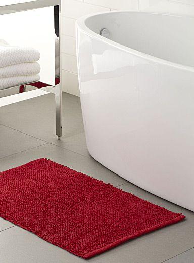 Une exclusivité Simons Maison - On adore lu0027effet bouclette qui - antiderapant salle de bain