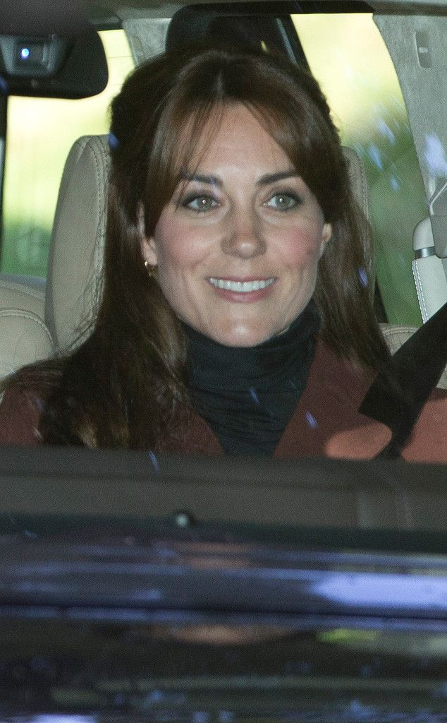 Kate Middleton Looks Gorgeous With New Hairstyle Rides With Prince