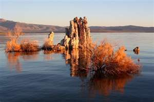 Mono Lake - where Dave & Janet Carle were State Park Rangers for decades.  They are now traveling the world and writing a book about the 38th parallel and environmental things.