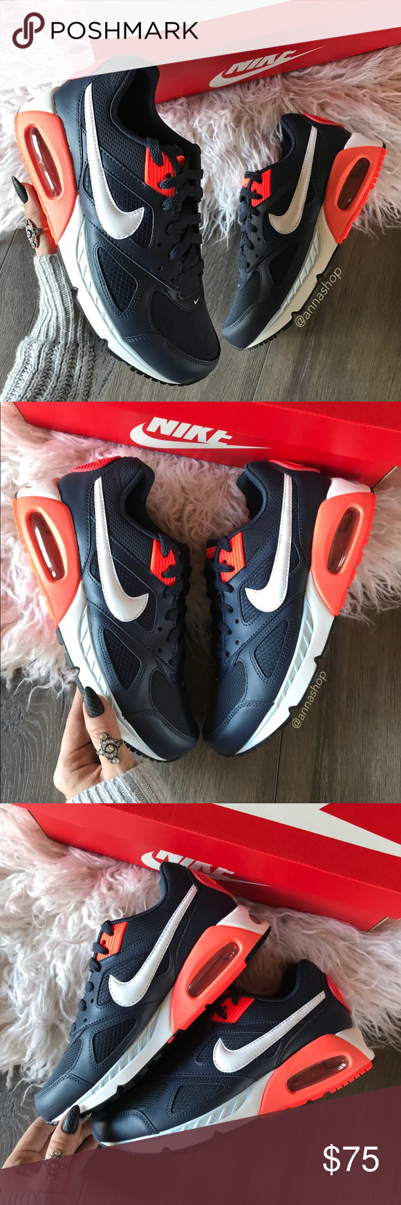 NWT Air Max IVO Thunder Blue WMNS NWT