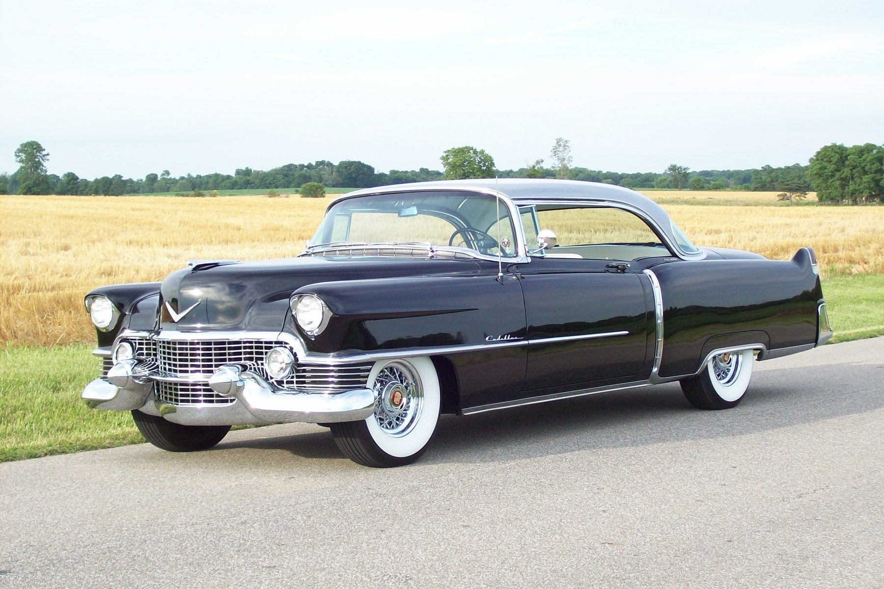 1954 Cadillac Coupe Deville Pinterest Cars 1949 Styleline Chevy Horn Wiring 50s Pedal Old Fashioned Series