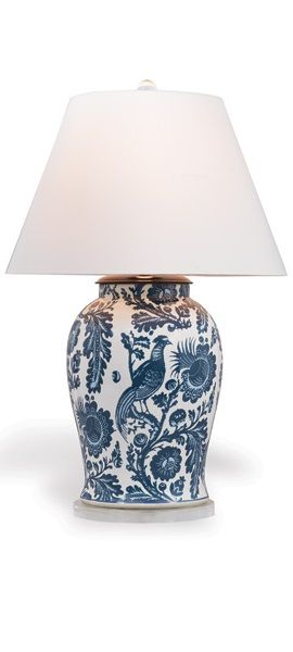 Blue And White With Images Blue And White Lamp White Lamp Lamp