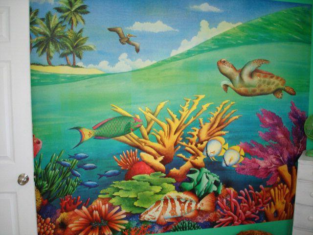 Underwater Wall Mural underwater mural wall paint grand island nebraska home house real