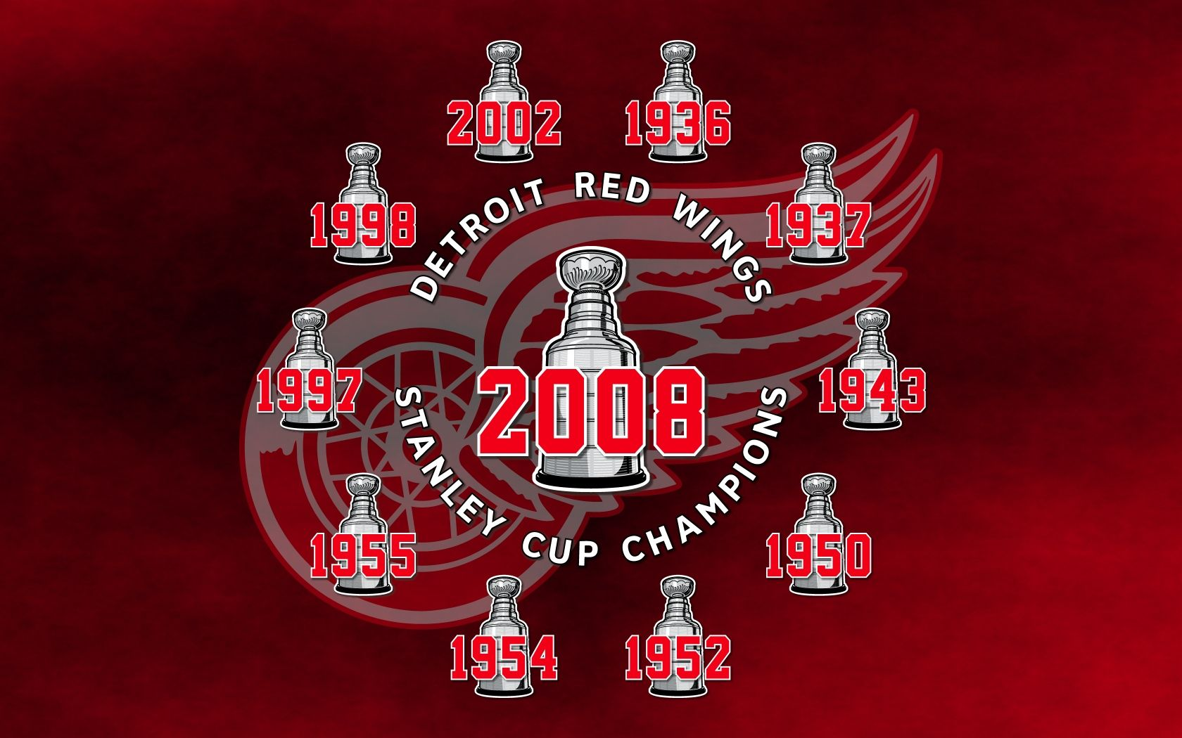 red wings MonkeyWrench32 » 2008 Stanley Cup Champions