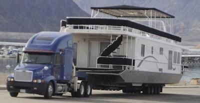 Houseboat Transport Get A Quote And Safely Move Your House Boat