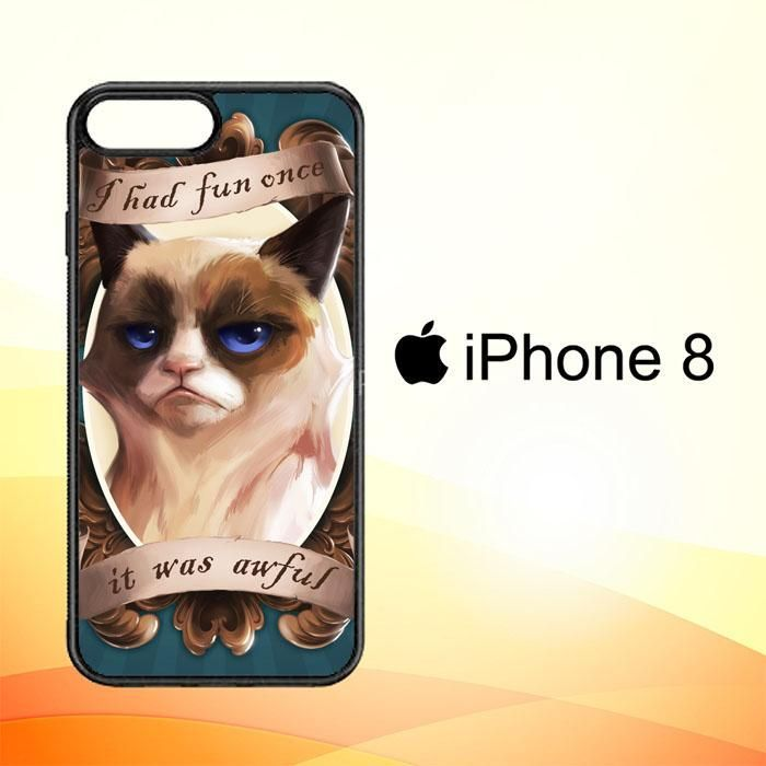 Grumpy Cat Wallpaper Y1767 Iphone 8 Case Products Iphone 8 Cases