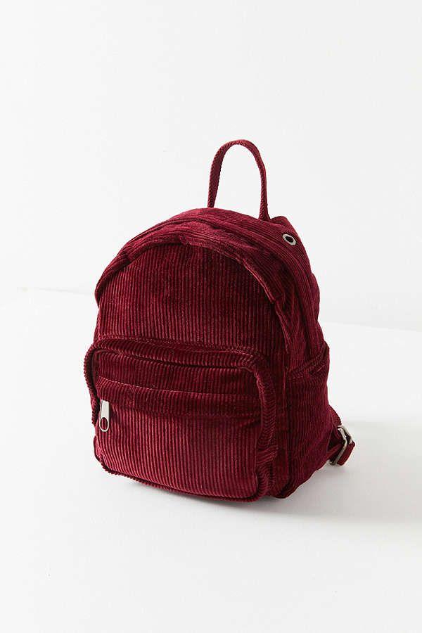 e40ac31c37d7 Slide View  3  Mini Corduroy Backpack