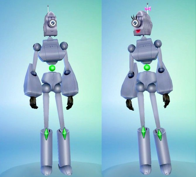 Servo robots from Sims by Esmeralda at Mod The Sims via Sims
