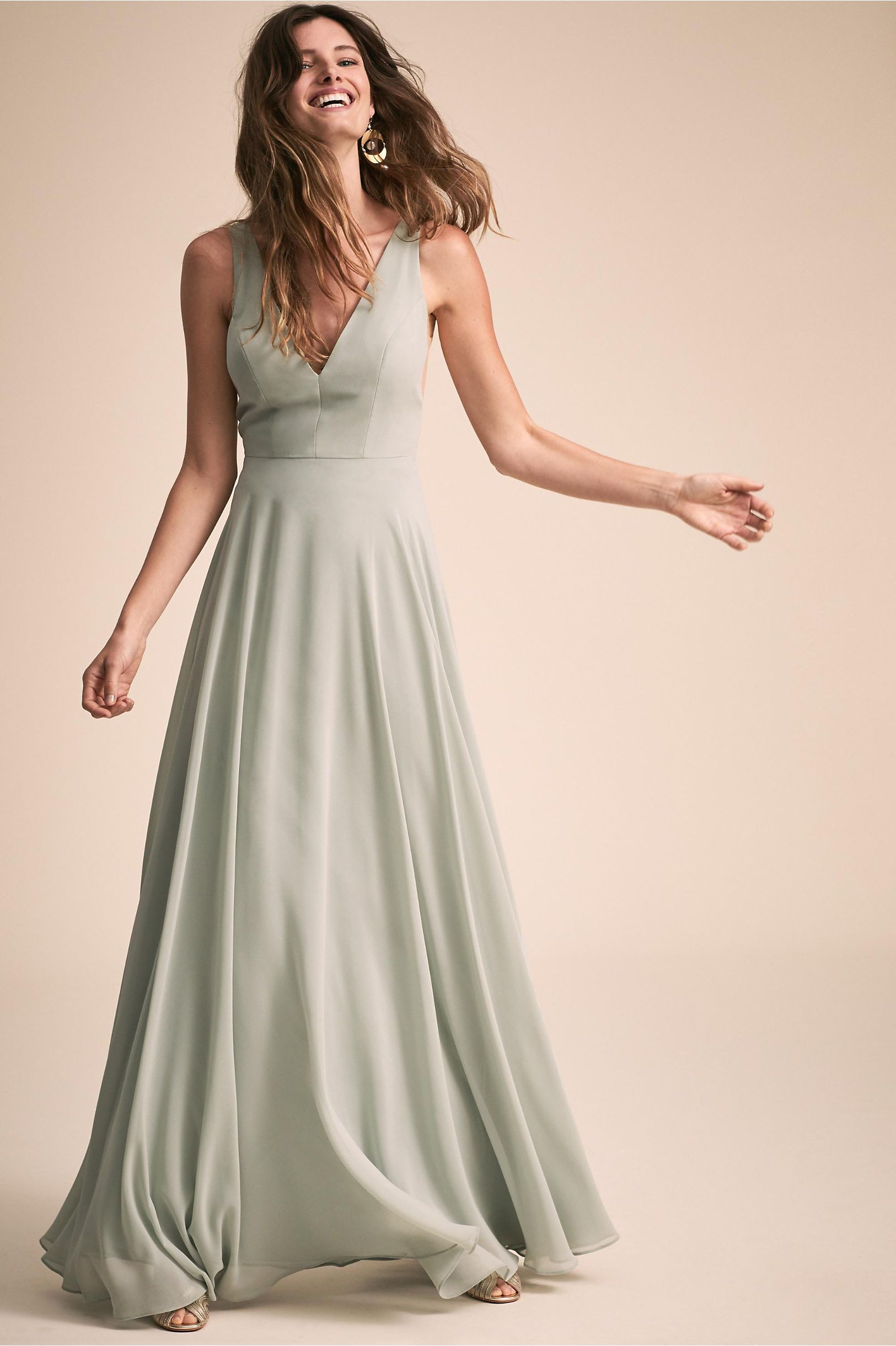 1c67b697353 BHLDN s Jenny Yoo Colby Dress in Morning Mist. BHLDN s Jenny Yoo Colby Dress  in Morning Mist Wedding Dresses ...