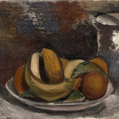Artwork by André Derain, L'assiette de fruits, Made of Oil on canvas