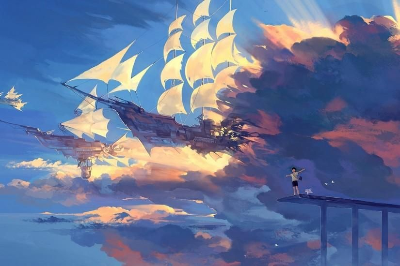 Anime Scenery Wallpapers Desktop Background With High Resolution