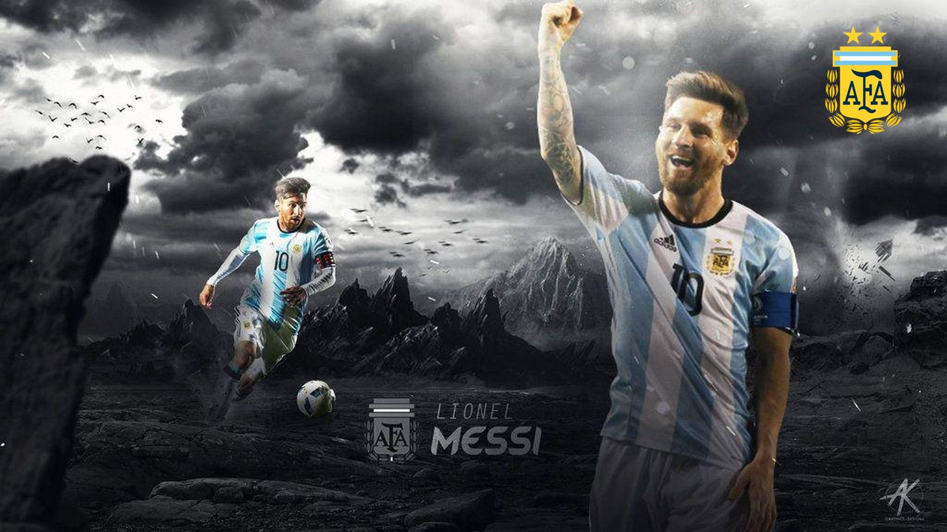 Wallpapers Hd Messi Argentina Messi Messi Argentina Football Wallpaper