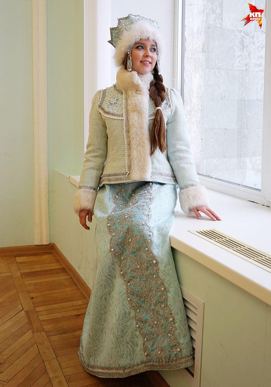 Зимний костюм с короной Фото: Алена КЛЕНОВА | Платья ...