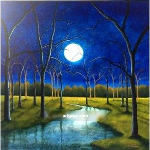 Stunny Nature Scenery Beautifully Captured By Artist On Canvas Art Painting Free Shipping Oil Painting Nature Scenery Paintings Oil Painting Landscape