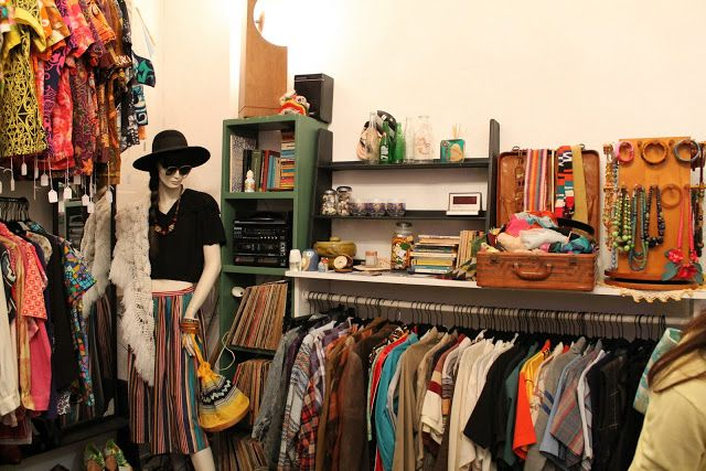 Island Folks Charity Shop Clothing Displays Boutique Shop