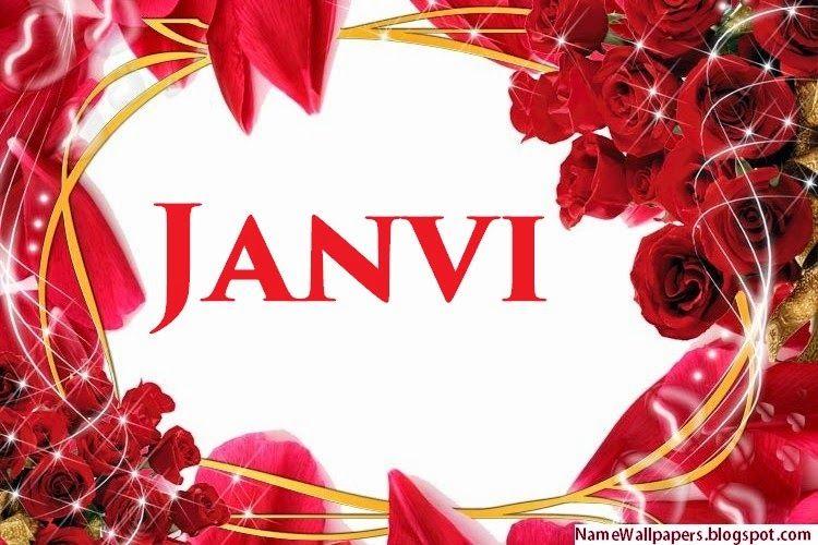 Janvi Name Wallpapers Janvi ~ Name Wallpaper Urdu Name Meaning