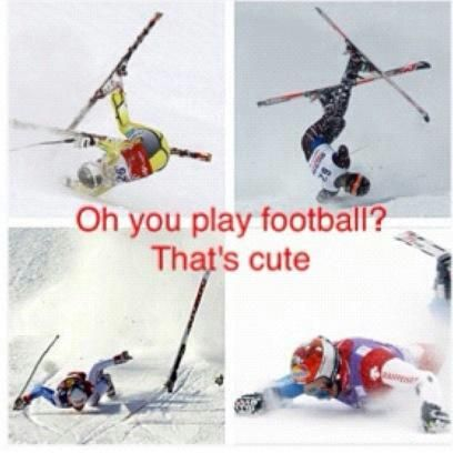 Oh skiing...