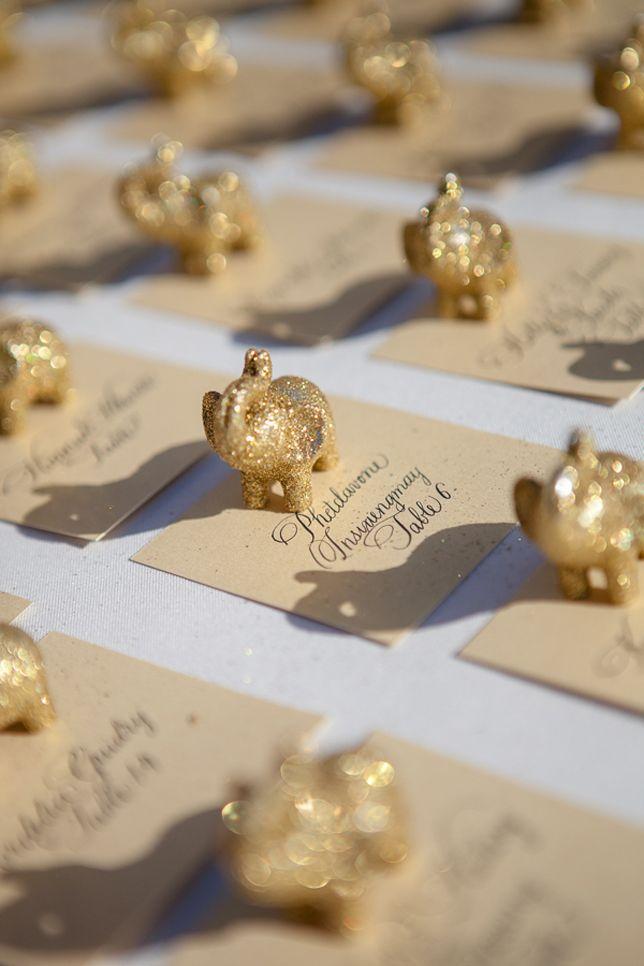 Indian Wedding Favors | Real Wedding Tina Jared Escort Cards Wedding Real Weddings