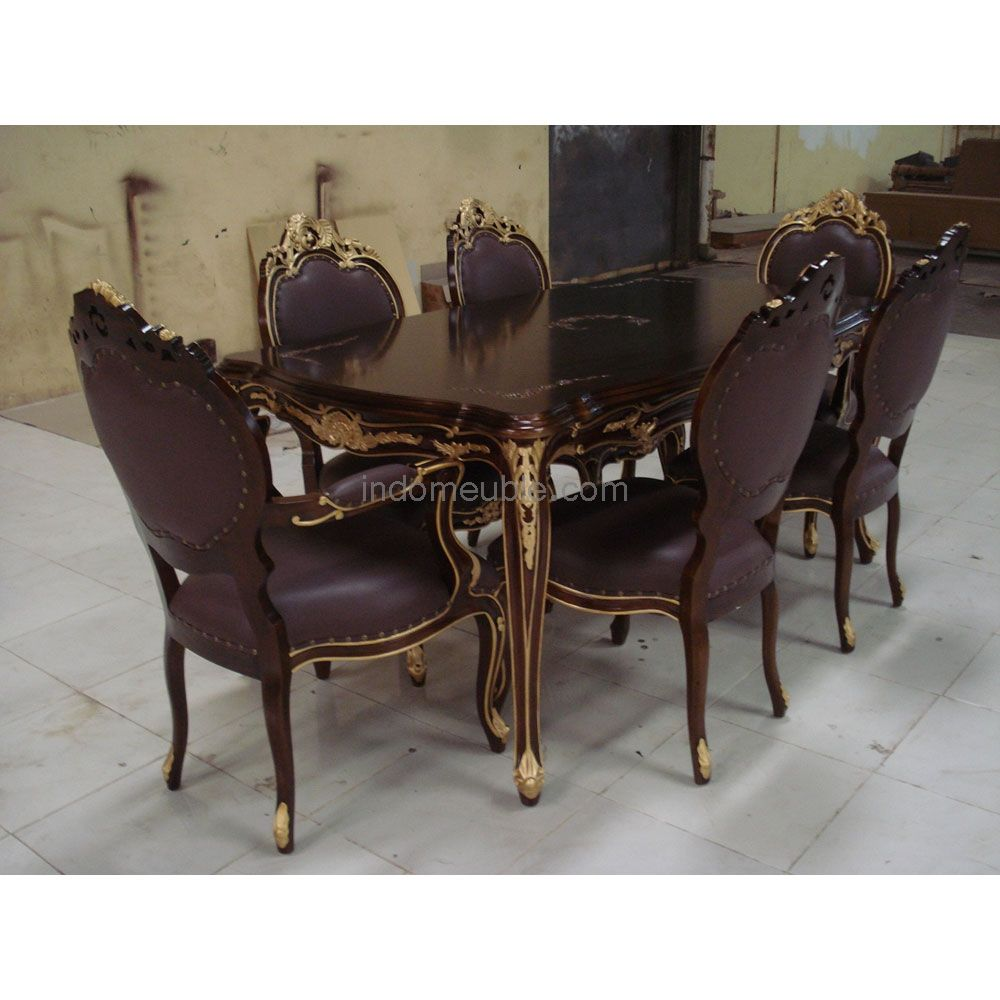 Victorian Style Dining Room Furniture Set Ds007