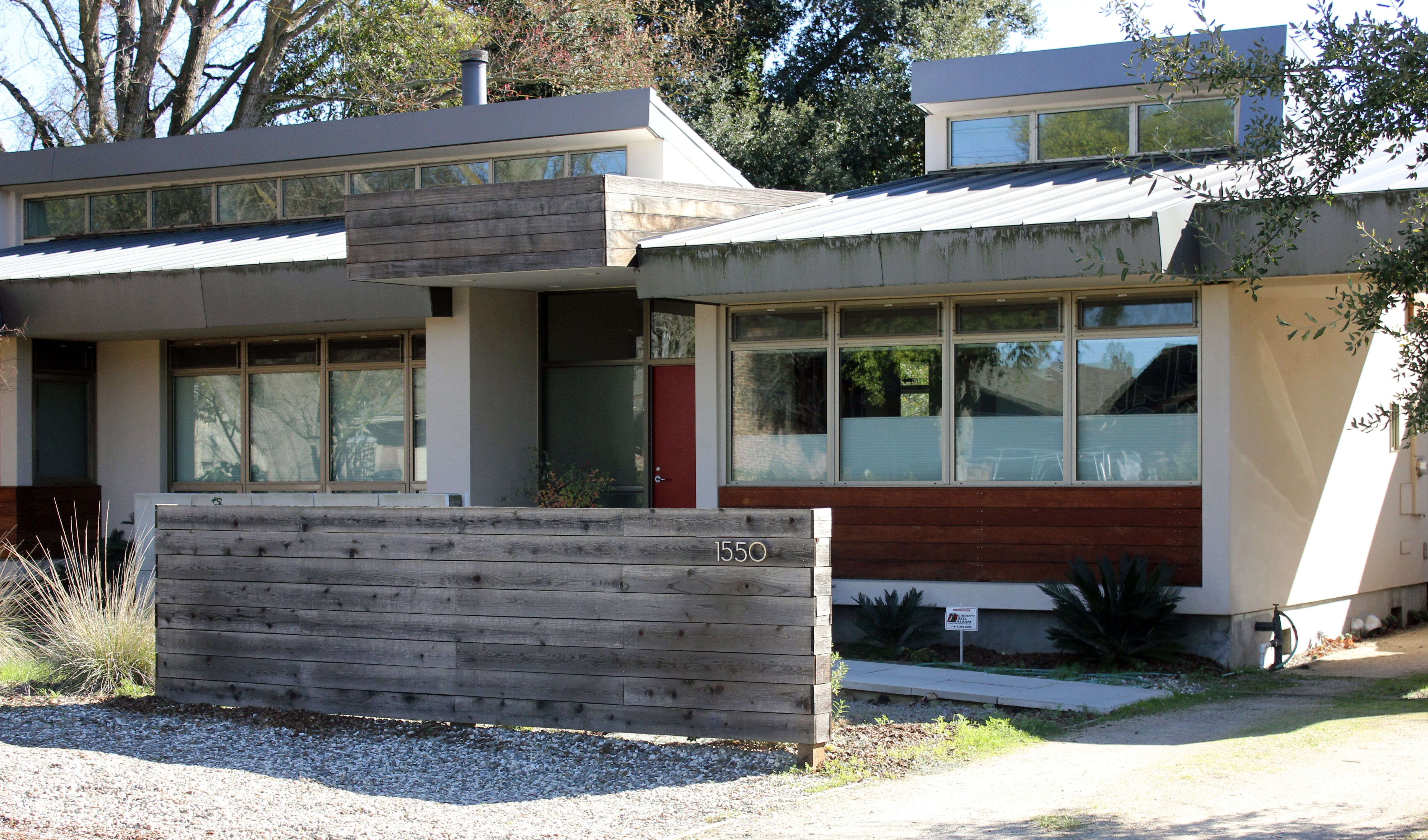 house mid century modern - Mid Century Modern Home Exterior Paint Colors
