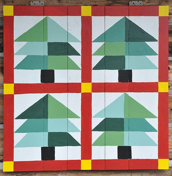 pine tree barn quilt block - Google Search | fun things ... : pine tree quilt block - Adamdwight.com