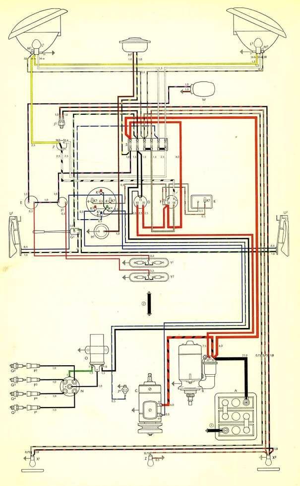 16  Bus Electrical Wiring Diagram