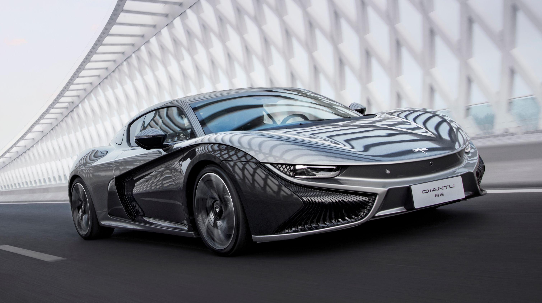 Watch Out Tesla! Qiantu Motor's 400HP Electric Coupe Is