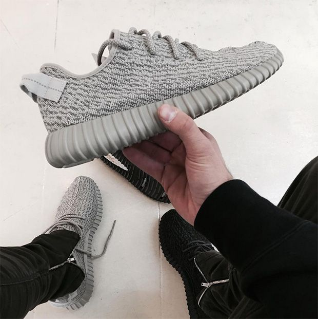 "0a7a057ddb0 In Hand Look At the Yeezy 350 Boost ""Moon Rock""As we stated yesterday"