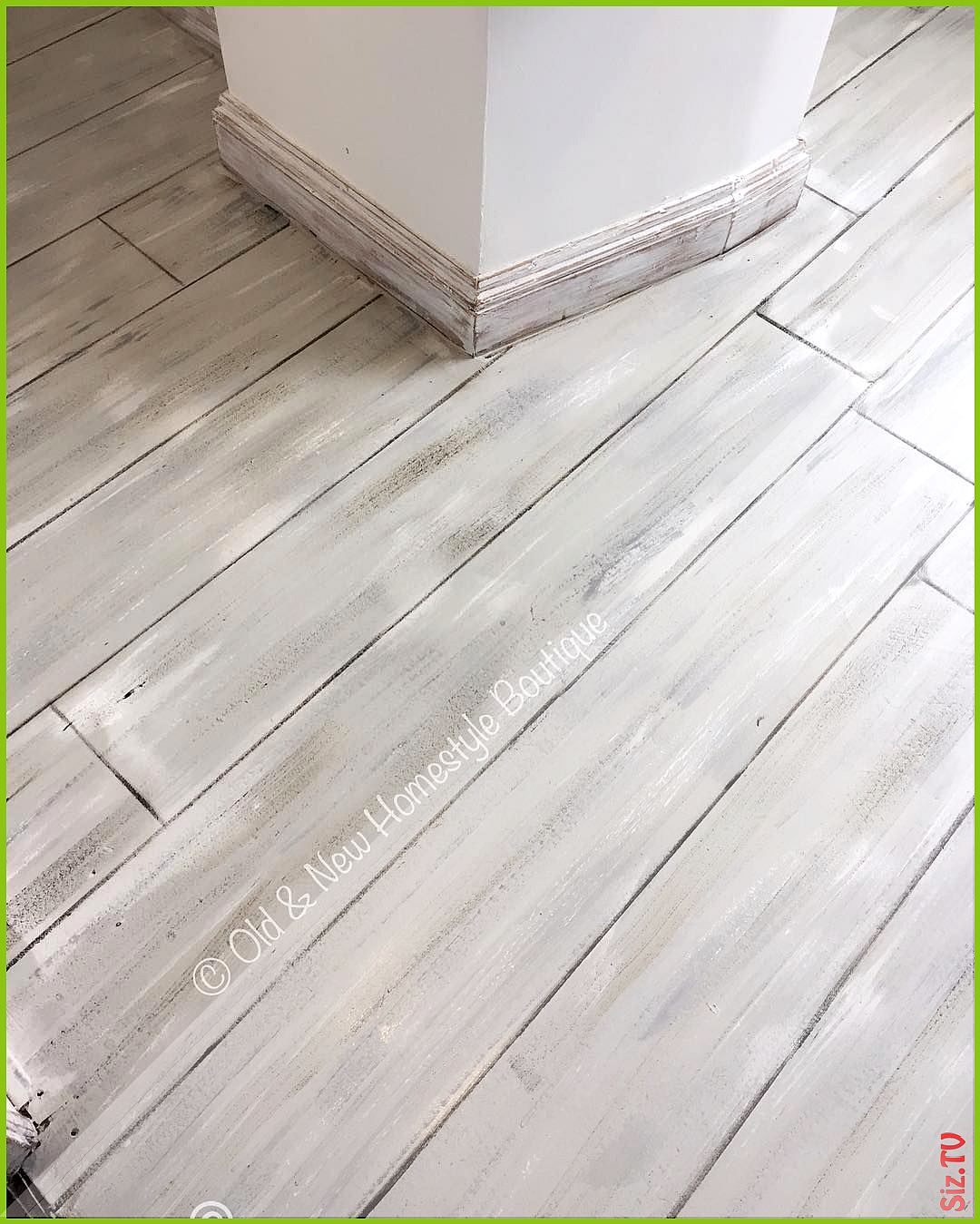 Laminate Flooring With A Paint Effect Laminateflooring