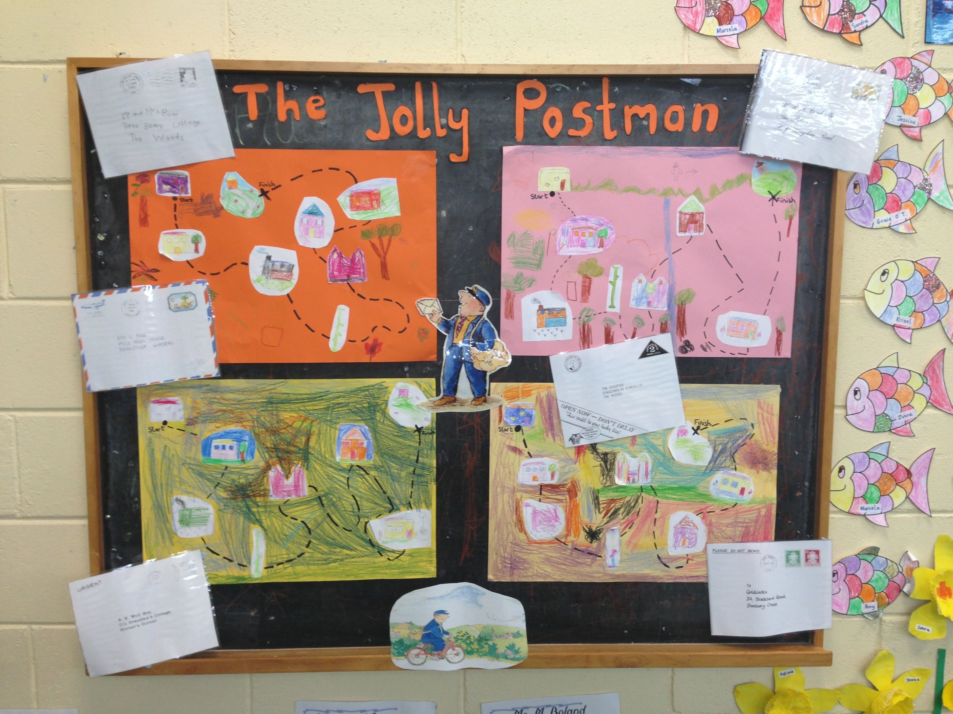 Ms crowleys junior infants eyfs literacy and school jolly postman story maps spiritdancerdesigns Images