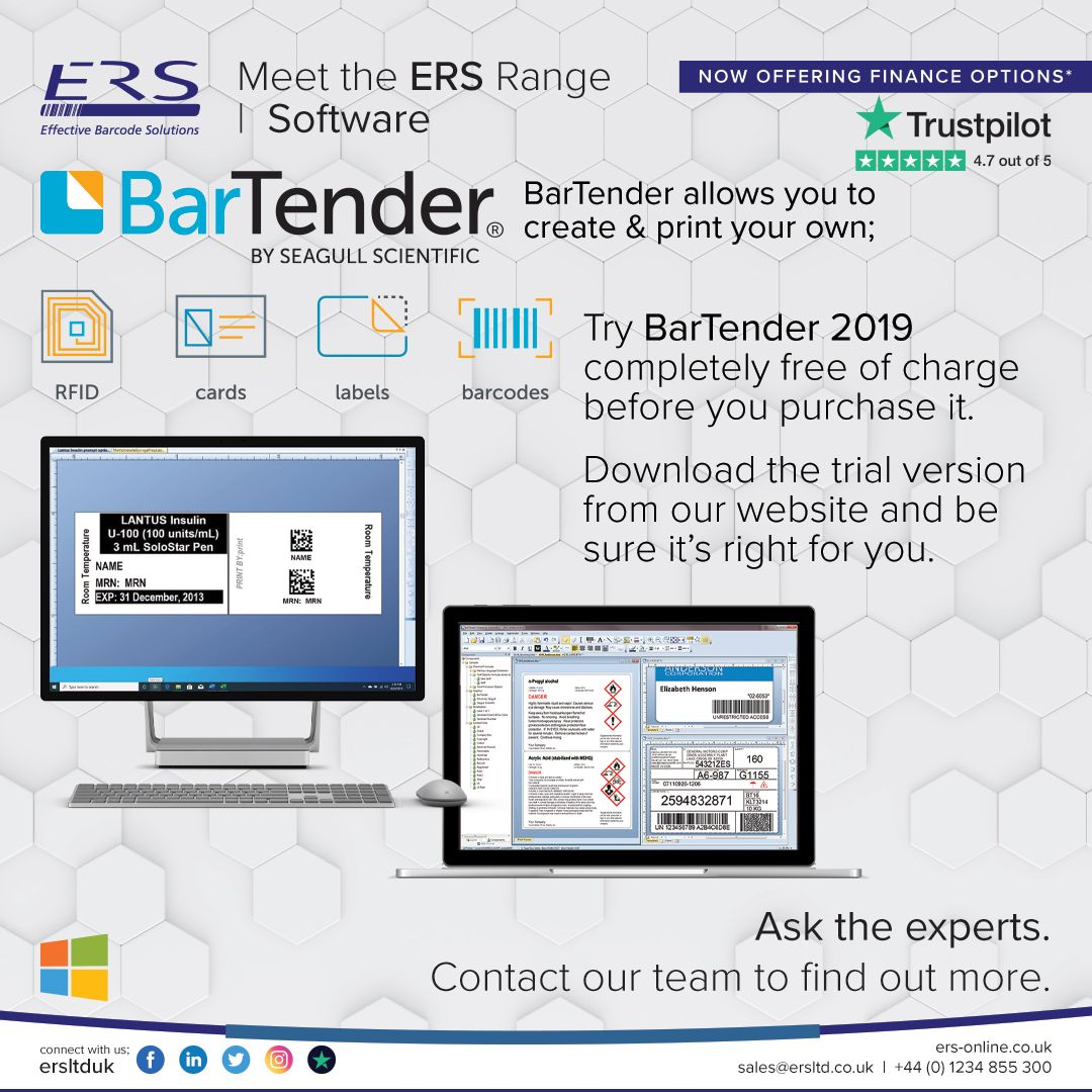 Bartender Free Trial In 2020 Printing Labels Printing Software Printing Solution
