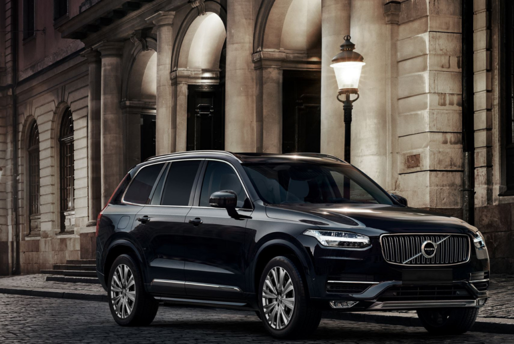 Ride In Ultimate Safety Aboard The Volvo Xc90 Armored Suv Men S Gear Volvo Xc90 Volvo Suv Volvo Cars