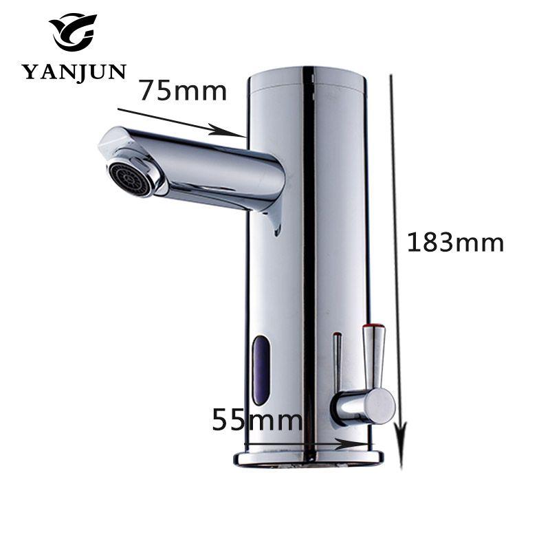 Yanjun Touch-Free InfraredSensor Faucet Automatic Shut Off Faucet ...