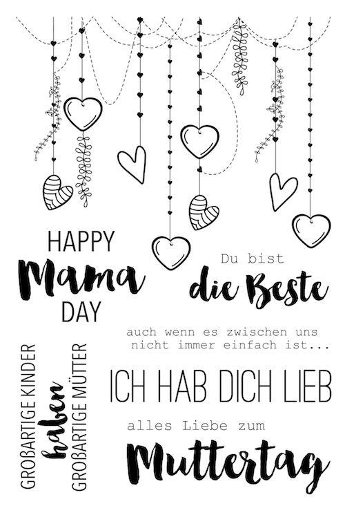 Glücklich MAMA Tag Transparent Klar Silikon Stempel Siegel für DIY Scrapbooking fotoalbum Dekorative Klare Stempel Blätter #scrapbook