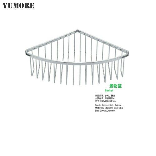 High Quality 304 Stainless Steel Corner Wire Shower Basket Caddy Rust Proof Very Durable Buy From Www Yumorechina Com Shower Basket Bathroom Baskets Shower