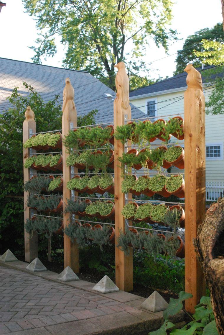 jardines ideas originales ideas originales para vallas de jard n veintis is fotos