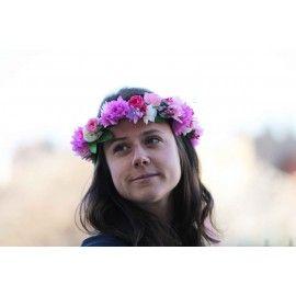 Couronne de fleurs Emily - 25 euros